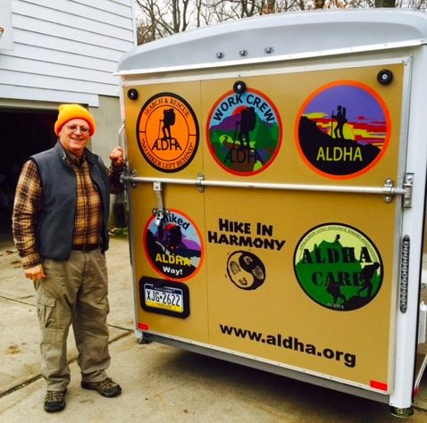 Wing-Heart with the ALDHA trailer