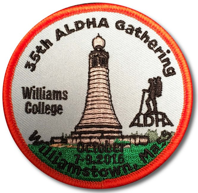 35th Gathering Patch
